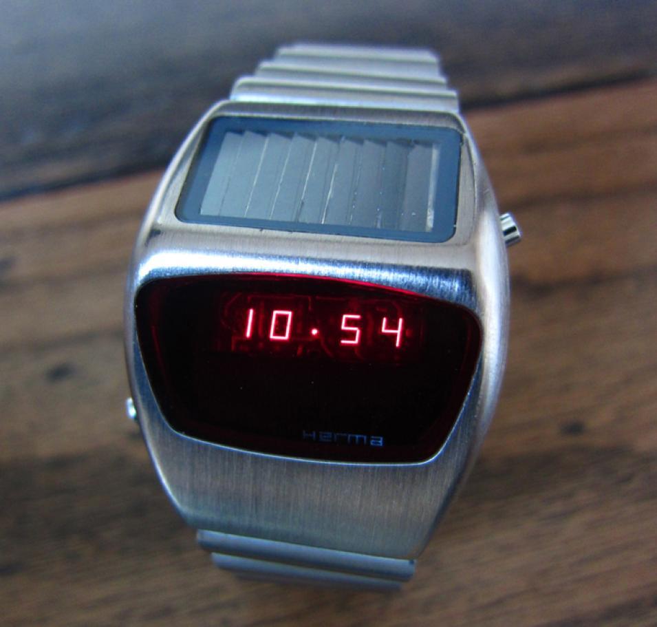 Herma LED Solar watch.