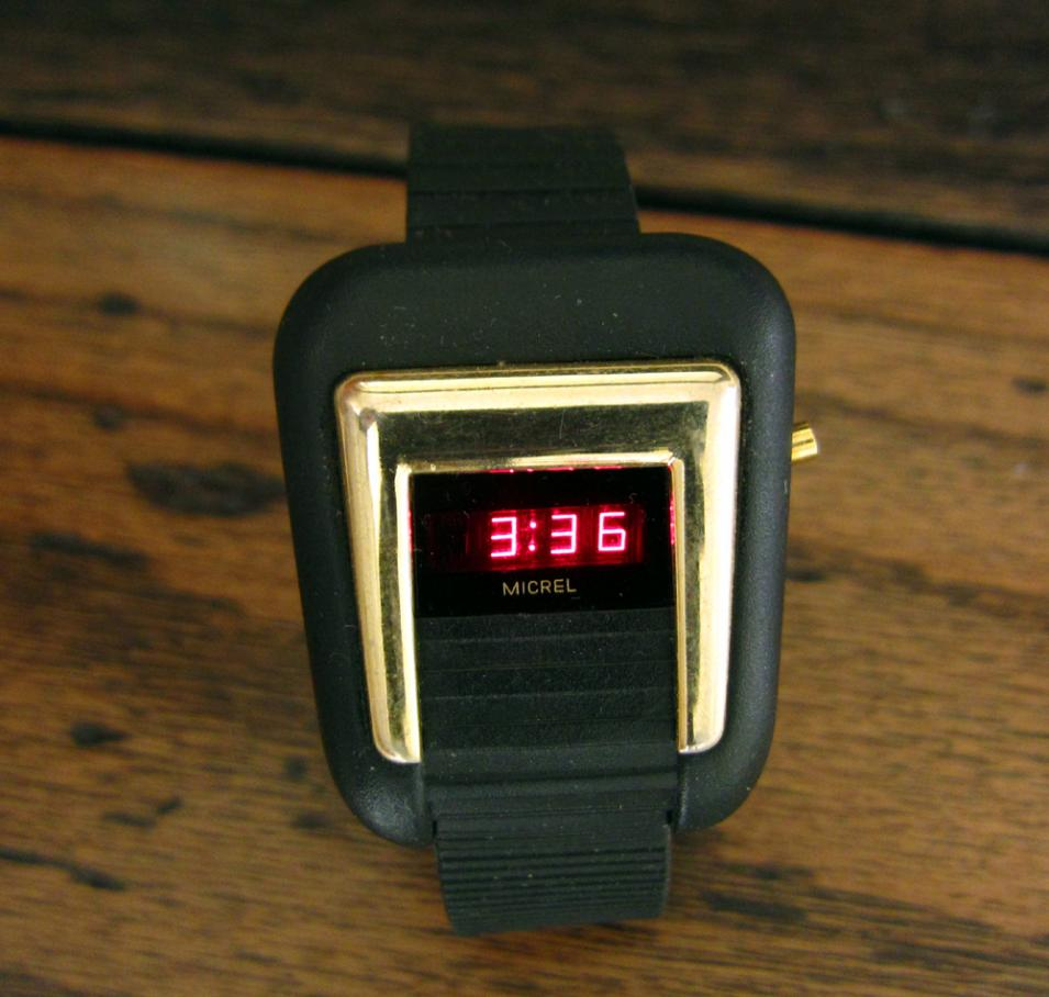 Micrel LED watch.