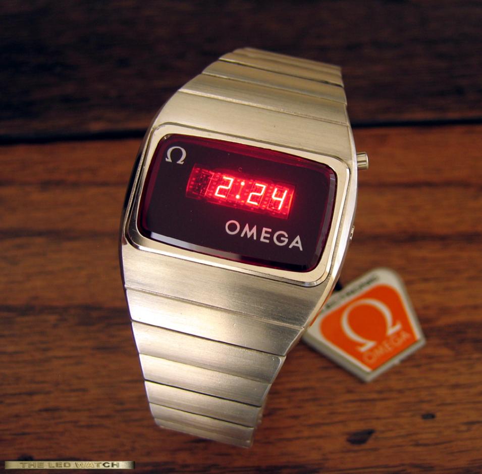Stainless Steel Omega Digital II. | The LED Watch: www.theledwatch.com/omega_digital_II