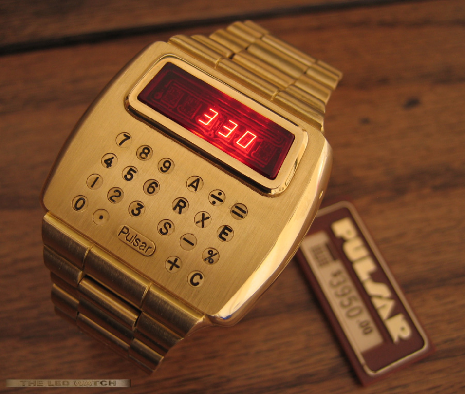 Pulsar 18k Limited Edition Calculator