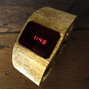 Accurist LED watch.
