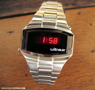 Stainless Steel Wittnauer.