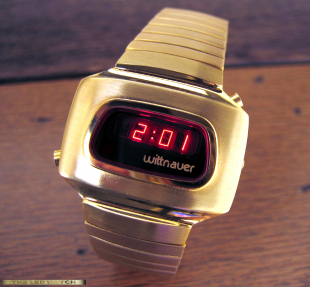 Solid braclet Gold-fill LED Wittnauer.